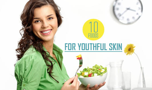 10 foods for youthful skin