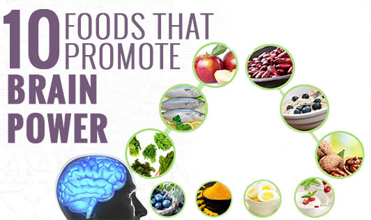 10 foods that promote brain power