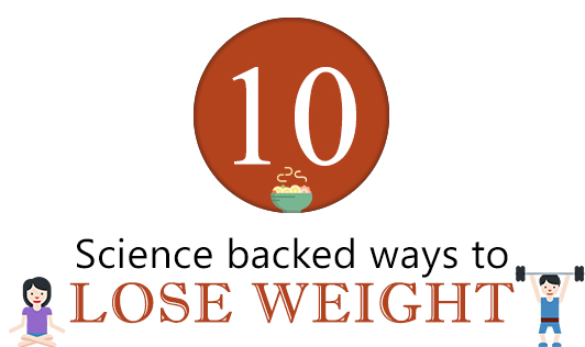 10 science backed ways to lose weight