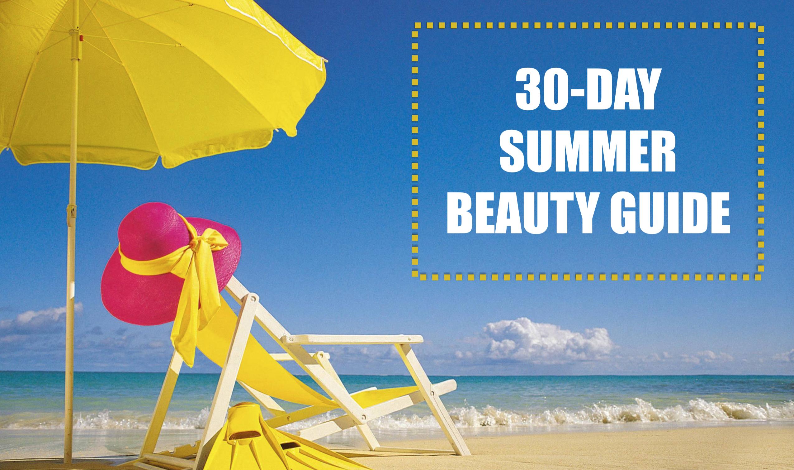 30-day Summer Beauty Calendar