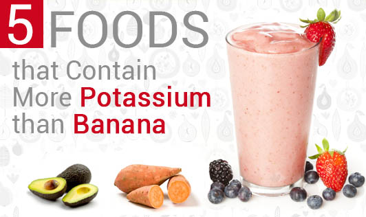 5 Foods that Contain More Potassium than Banana