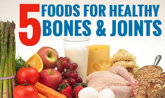 5 foods for healthy bones & joints