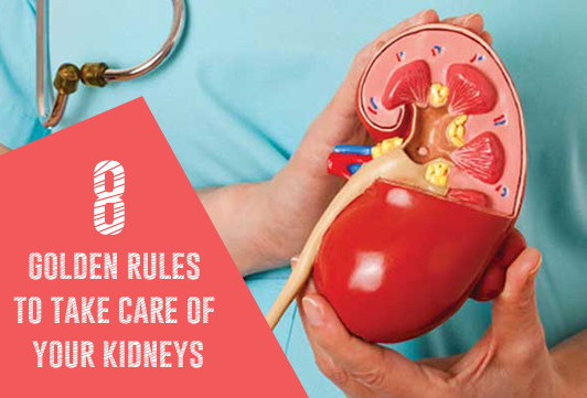 8 golden rules to take care of your kidneys