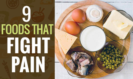 9 Foods That Fight Pain