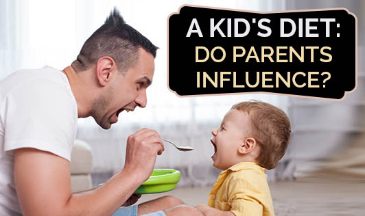 A Kid's Diet: Do Parents Influence?
