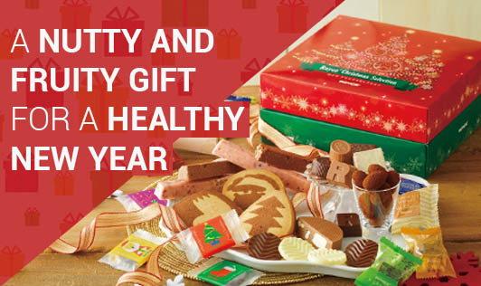 A NUTTY AND FRUITY GIFT FOR A HEALTHY NEW YEAR