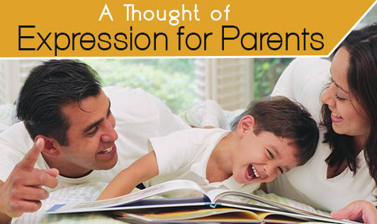 A Thought of Expression for Parents