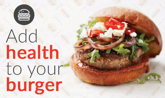 Add health to your burger