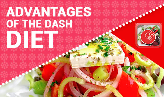 Advantages of the DASH diet