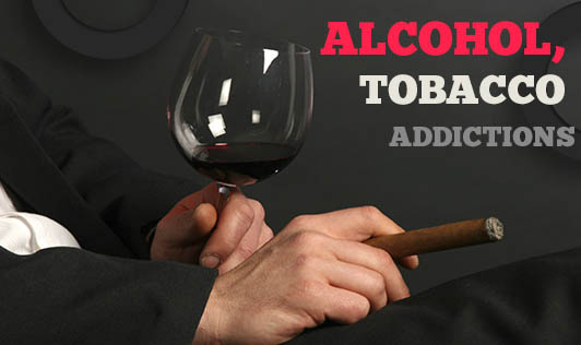 Alcohol, Tobacco Addictions