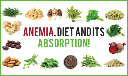 Anemia, Diet and its Absorption!