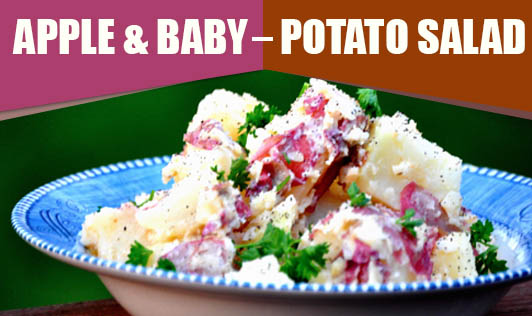 Apple & Baby Potato Salad