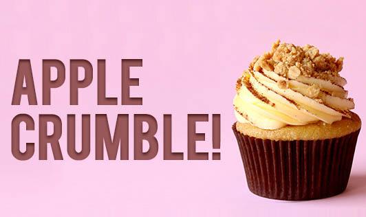 Apple crumble!