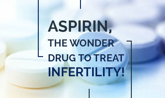 Aspirin, the Wonder Drug to Treat Infertility!