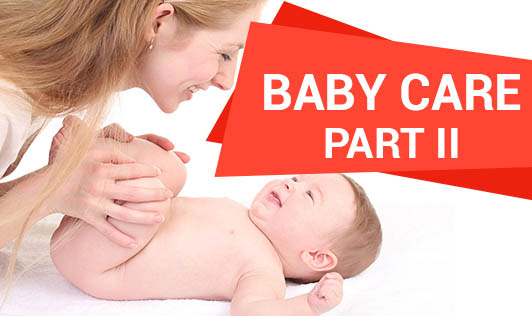 Baby care post six months