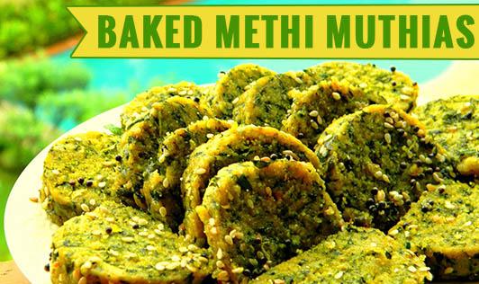 Baked Methi Muthias