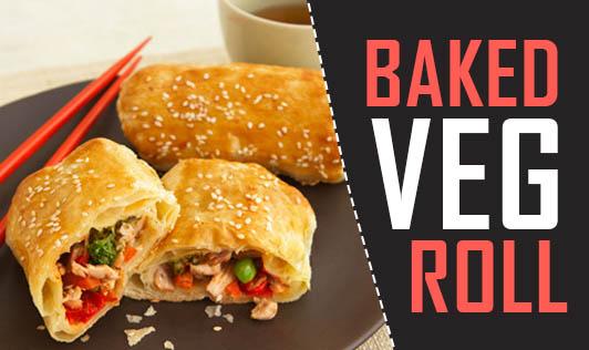 Baked Veg roll