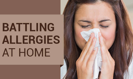 Battling Allergies at Home