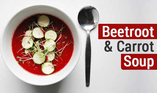 Beetroot & Carrot Soup