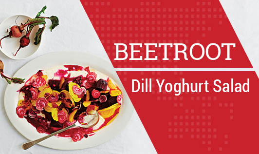 Beetroot-Dill Yoghurt Salad