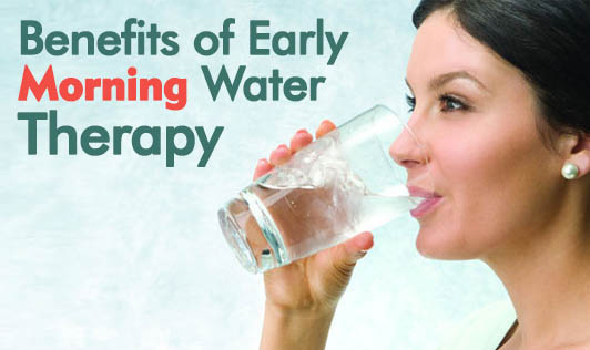 Benefits of Early Morning Water Therapy