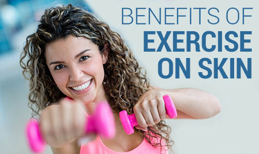 Benefits of Exercise on Skin & Hair