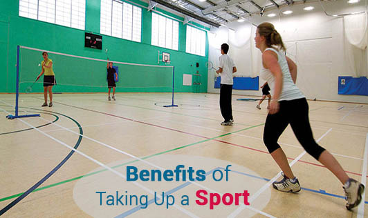 Benefits of Taking Up a Sport