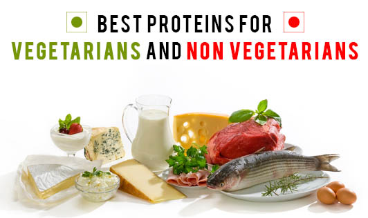 Best Proteins for Vegetarians and Non-vegetarians