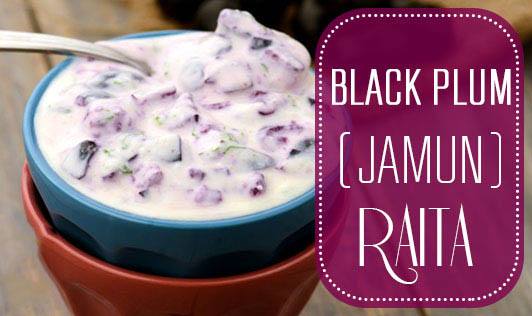 Black Plum (Jamun) Raita