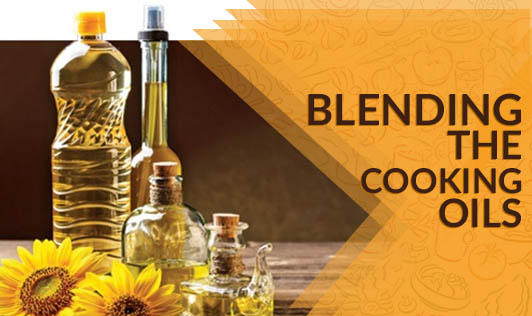 Blending the cooking oils