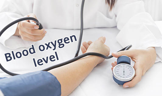Blood oxygen level