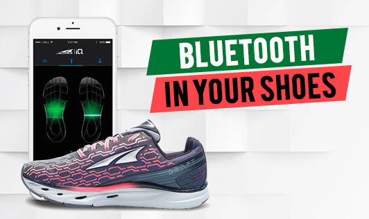 Bluetooth in your shoes