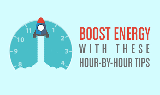 Boost energy with these hour by hour tips