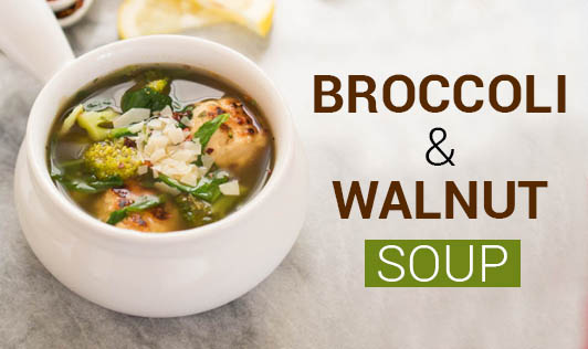 Broccoli & Walnut Soup