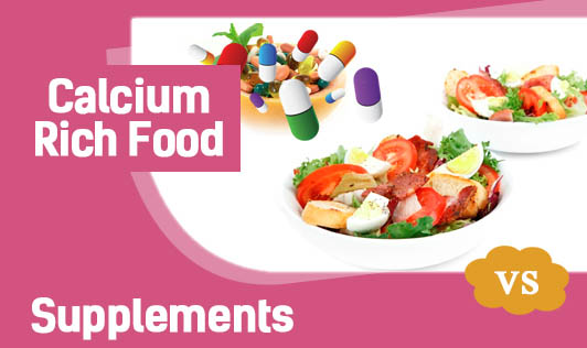 Calcium-Rich Food vs Supplements
