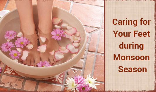Caring for Your Feet during Monsoon Season
