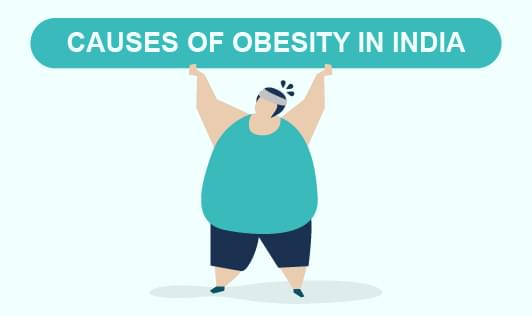 Causes Of obesity in India