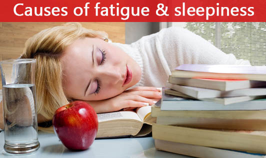 Causes of fatigue and sleepiness