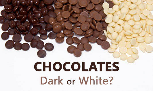 Chocolates - dark or white?