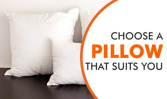 Choose A Pillow That Suits You