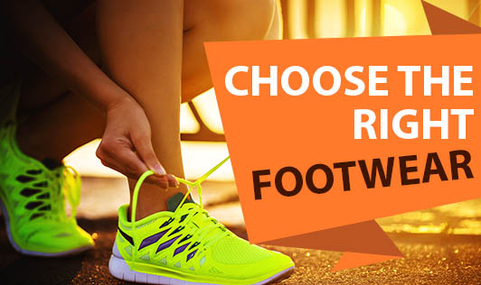 Choose the Right Footwear