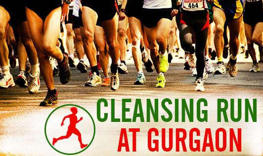 Cleansing Run at Gurgaon