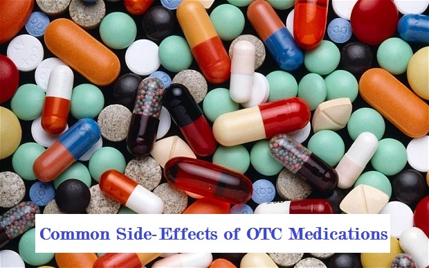 Common side-effects of OTC medications