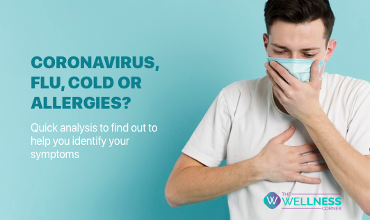 Coronavirus, Flu, Cold, or Allergies - Find out your symptoms!