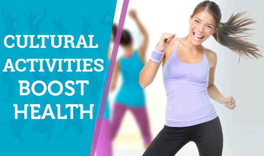 Cultural Activities Boost Health
