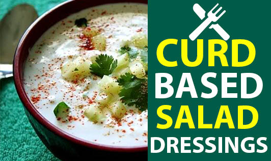 Curd-based Salad Dressings