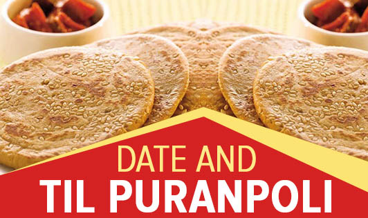 Date and Til puranpoli