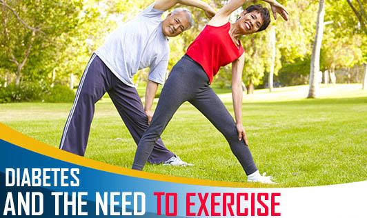Diabetes & the need to exercise