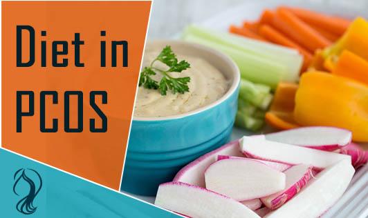 Diet in PCOS