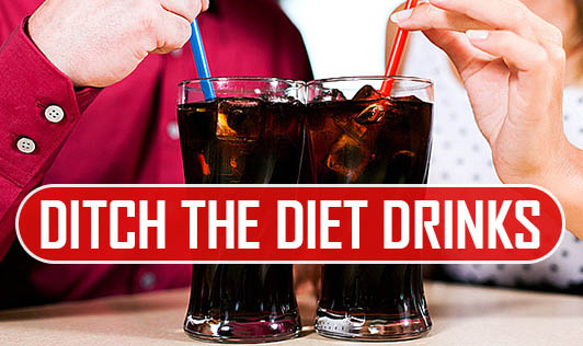 Ditch The Diet Drinks